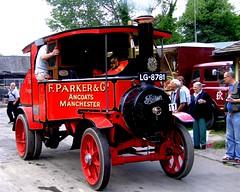 Foden steam wagon