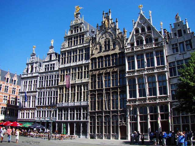 Antwerp, Belgium 110 - Guild Houses