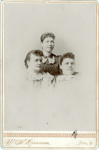 Three women in portrait