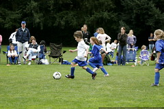 nick takes the ball from one end of the field all th…