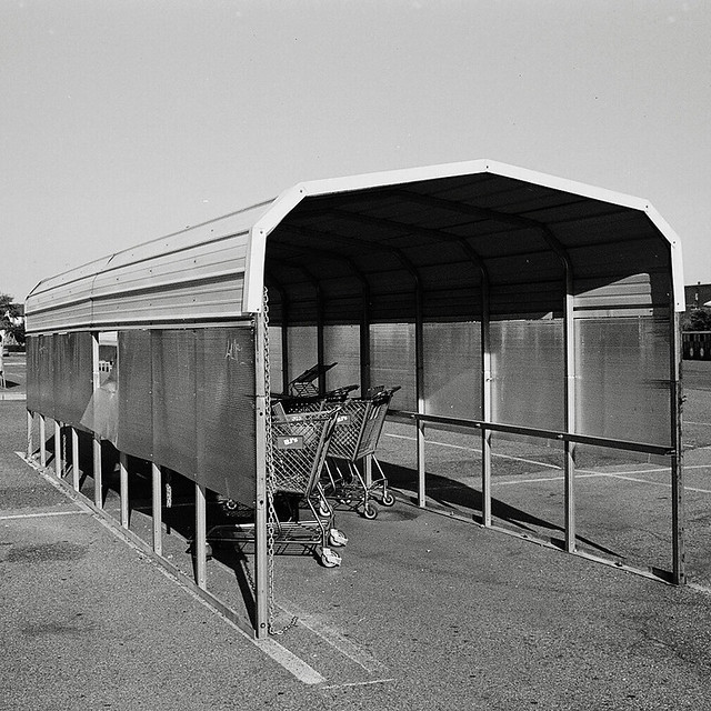 Metal Shelter Grocery Cart : Shopping cart shelter jersey city explore nesster s