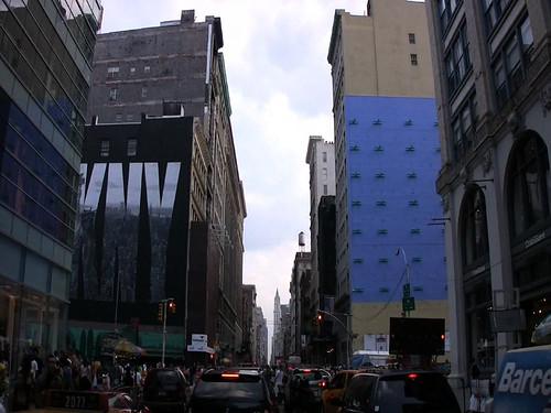 (DK)NY sign