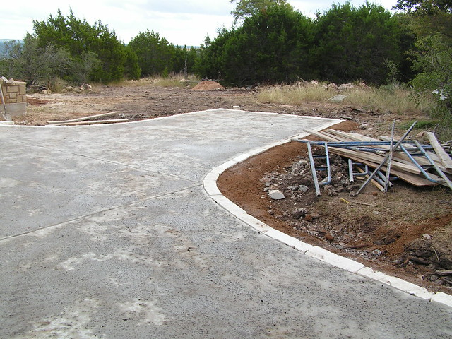 Edging Your Driveway