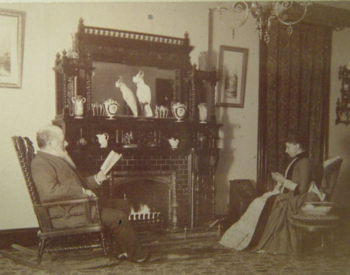By the fire 1890's