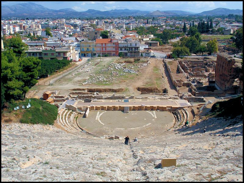 Across Argos from the Theater