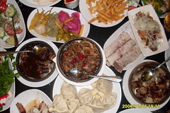 meal, supper, banchan, hot pot, buffet, food, dish, meze, cuisine, chinese food,