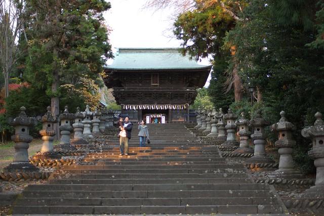 仙台東照宮の石段