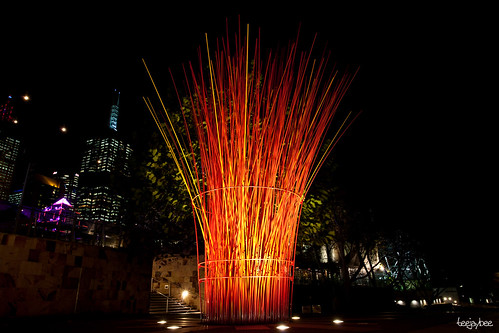 Light Art @ Federation Square