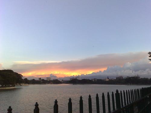 india lake evening nokia phone bangalore cell karnataka ulsoor ulsoorlake swamistream swamistreamcom