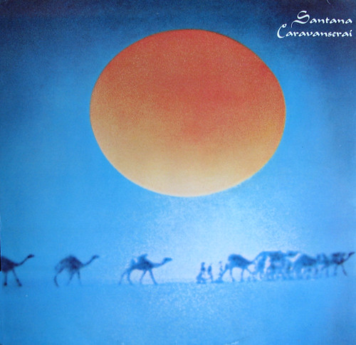 Brilliant By The Fourth Album, Caravanserai, In 1972, He Leaned Away From The Driving Latin Rock That Had Sold Millions On Albums Like Abraxas, And Moved Toward Fusion Jazz Carlos Santanas Receptiveness To World Music Set Him Apart From The