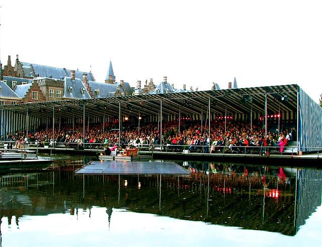 Festival Classique. De tribune gisteravond. Foto door Roel Wijnants.