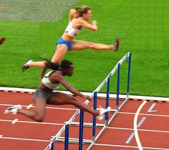 steeplechase, athletics, track and field athletics, 110 metres hurdles, championship, obstacle race, 100 metres hurdles, sports, running, hurdle, heptathlon, person, hurdling, athlete,