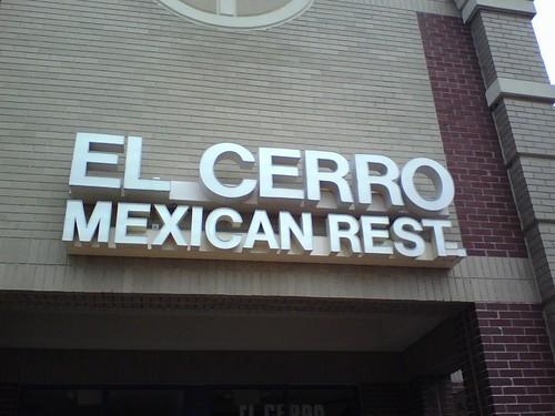 El Cerror - Mexican REST