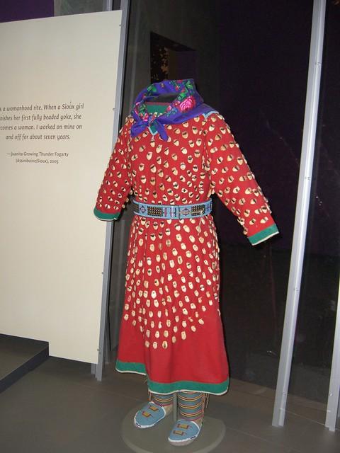 Elk-tooth dress (ca. 1890)
