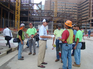 MO; Iron Workers Local 396 at Barnes Jewish Hospital Worksite Leaflet in St. Louis