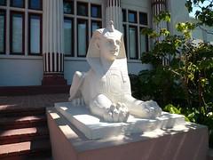 Sphinx Outside Rosicrucian Egyptian Museum and Planetarium San Jose
