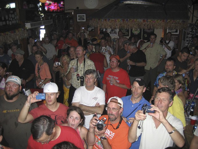 Hogsbreath Homemade Bikini Contest 2008. The Crowd