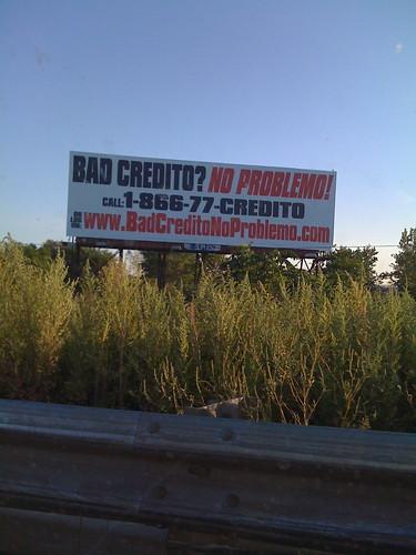 Bad Credito? No Problemo!