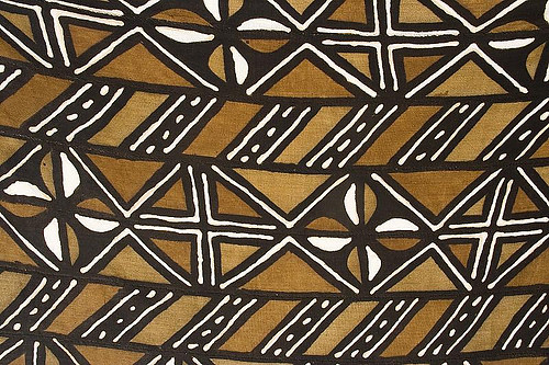 Bogolan End 233 Traditional Malian Print The Fabric Is