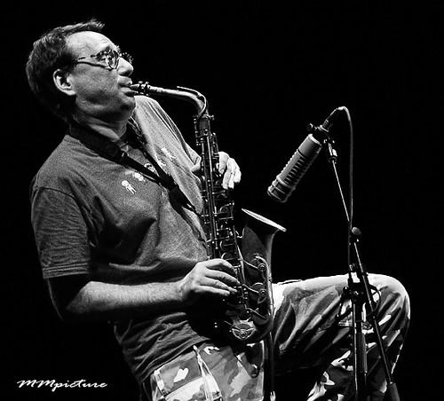 John Zorn w/ Painkiller by concert fotograaf Utrecht Maarten Mooijman