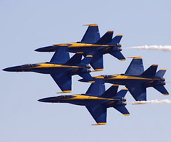 Blue Angels @ Annual Joint Services Open House