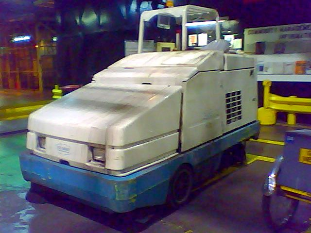 Zamboni of the factory floor flickr photo sharing for Floor zamboni