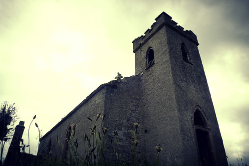 Creepy Clonmany Church