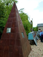weird metal pyramid thing... i didn't look into why