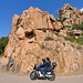 Around Corsica on two wheels