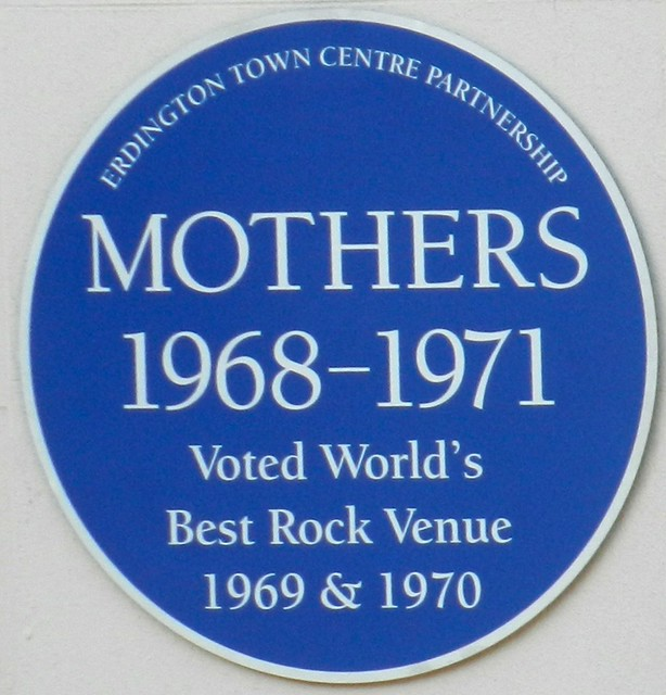 Photo of Mothers Club blue plaque
