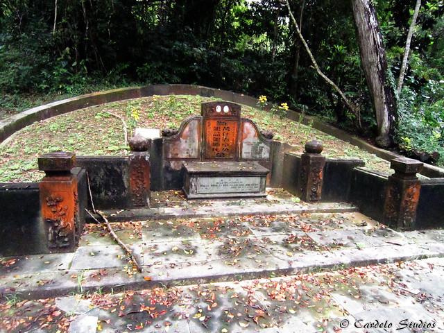 Bukit Brown - Tomb of Cheang Jim Hean & Khoo Ek Neo 01