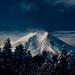 Fresh snow and Mt. Fuji by takay