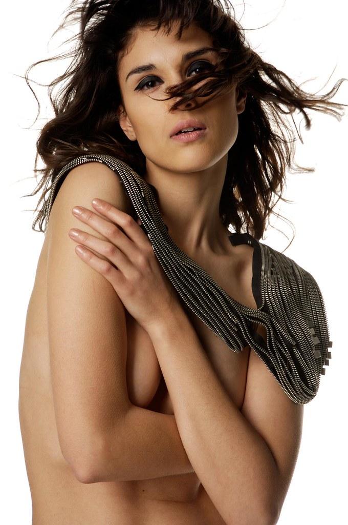 Zipper collar by OutsaPop