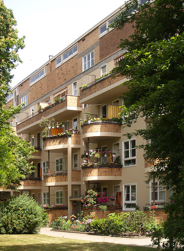 hugo häring, siemensstadt housing, 1929