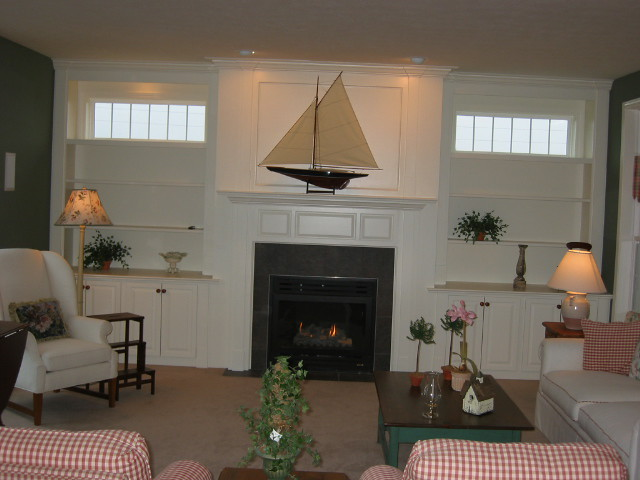 Built In Wall Unit With Fireplace Flickr Photo Sharing
