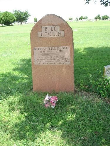 Marshall Mobile Homes >> Bill Doolin Tombstone | Flickr - Photo Sharing!