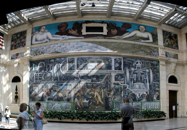 Diego rivera mural detroit flickr photo sharing for Diego rivera dia mural