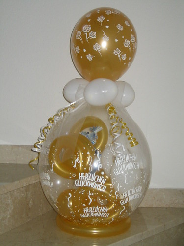 Geldgeschenk Zur Goldenen Hochzeit Wwwkunigunde Luftballo Flickr