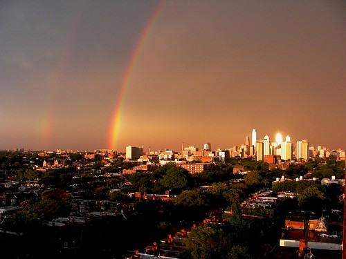 light sky philadelphia rain weather clouds reflections rainbow day westphiladelphia centercity explore philly lightning storms doublerainbow universitycity southphiladelphia metroblogging phillyist instantfave