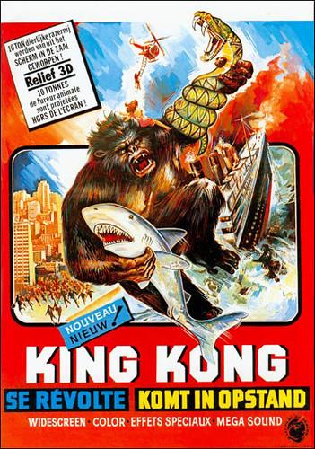 Hollywood Gorilla Men: SHARK VS GORILLA VS SNAKE