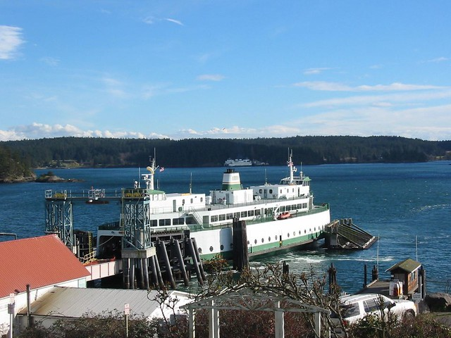 Ferry To Orcas Island Map