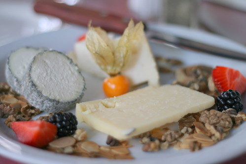 Cheese plate in the Old Port of Montréal