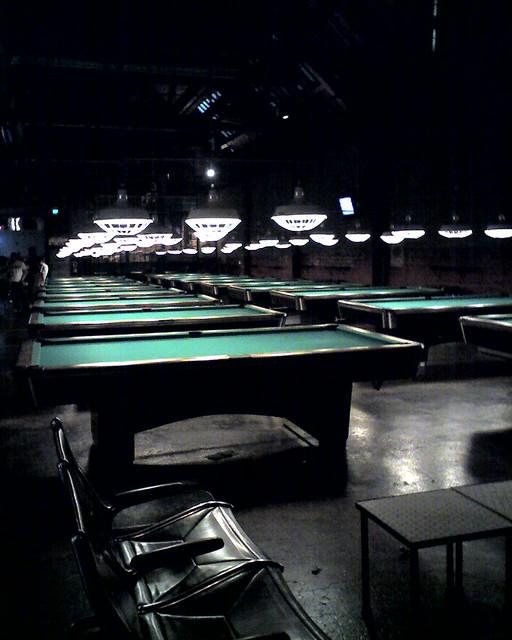 The Garage, Billiards And Bowling, Seattle Washington
