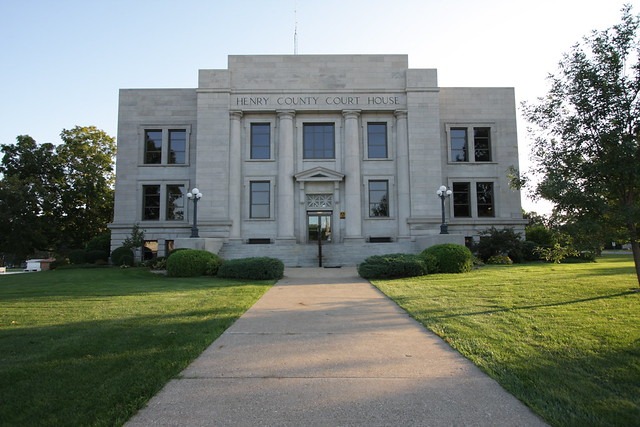 Henry County, Iowa Courthouse