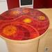 bar spirale mosaique d'émaux de verre albertini