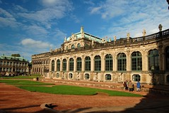 Zwinger Palace Courtyard