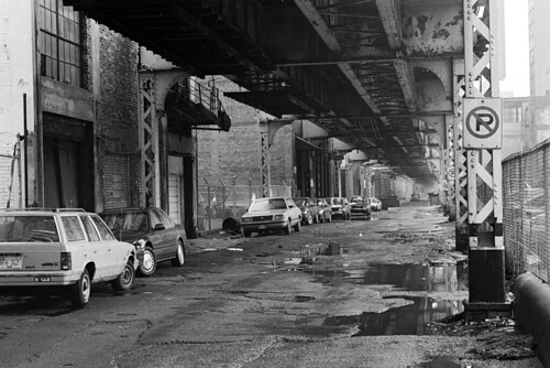 South Side L Tracks, Chicago, 1994