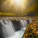 Silver Falls_ Glimpse Of Light by kevin mcneal