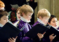 Choristers at Christmas, Canterbury Cathedral