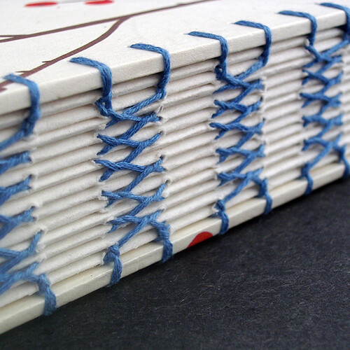French Link Stitch Binding by Ruth Bleakley